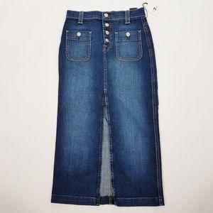 7 FOR ALL MANKIND Denim Skirt - size 26